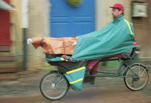 Transport bei schlechtem Wetter