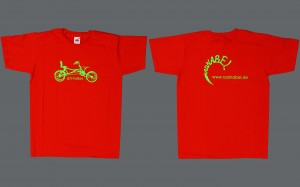 Radnabel-T-Shirts...